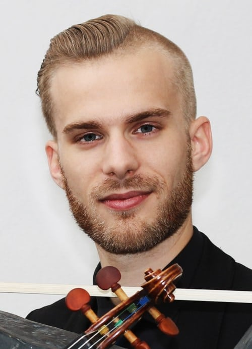 Florian Moser (Violine) (© Foto: Andreas Weiss)