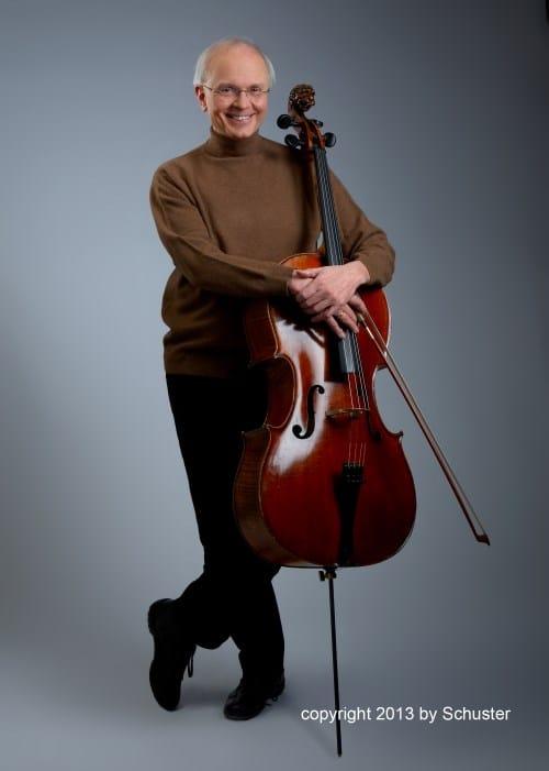 Franz Bartolomey (Violoncello) (© Foto: Schuster)