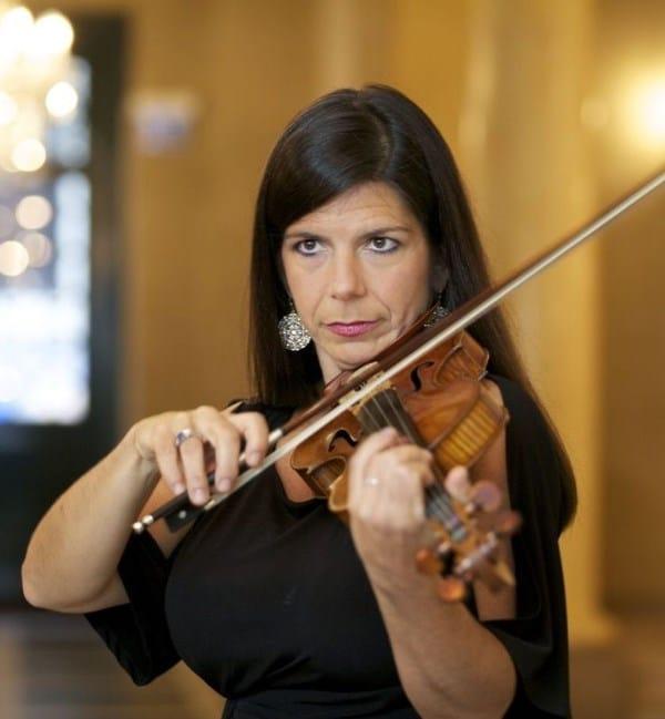 Pamela Frank (Violine) (© Foto: Nicholas Lieber)
