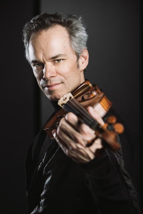 Benjamin Schmid (Violine und Leitung) (© Foto: Lienbacher)