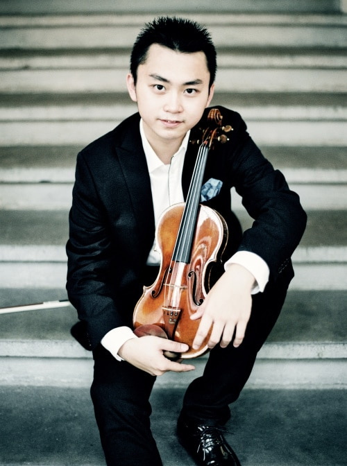 Ziyu He (Violine) (© Foto: Pia Clodi)