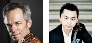 Benjamin Schmid und Ziyu He