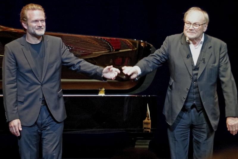 Konzert 22.09.2019, Sebastian Knauer und Klaus Maria Brandauer (Foto: Christine Tröger)