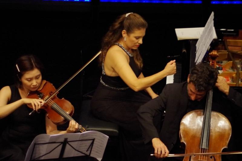 »Wiener Aufbruch« mit dem Alban Berg Ensemble Wien, 29.09.2019 (Foto: Christine Tröger)
