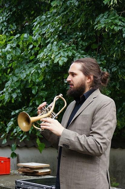 Mario Rom, Trompete (© Foto: Interzone)
