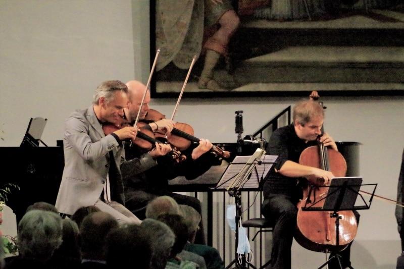 Konzert Samstag, 19.09.2020, Ambitionierter Serenadenton. Benjamin Schmid und Freunde.