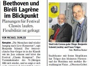 Allgäuer Zeitung, 14.07.2020