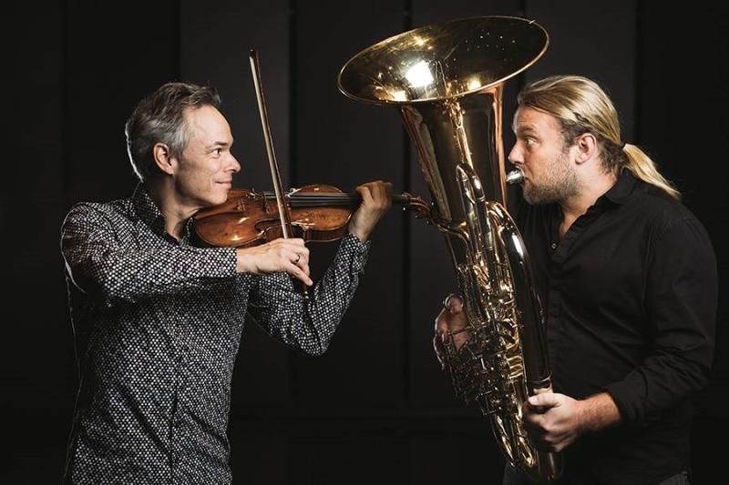 Benjamin Schmid und Andreas Martin Hofmeir (© Foto: Wolfgang Lienbacher)