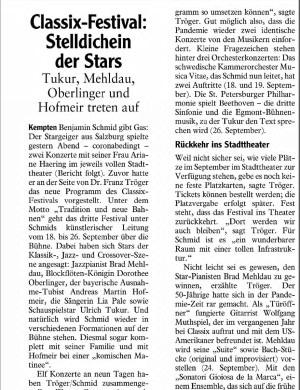 Allgäuer Zeitung, 22.06.2021