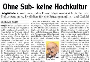 Allgäuer Zeitung, 07.09.2021