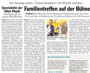Allgäuer Zeitung, 17.09.2021
